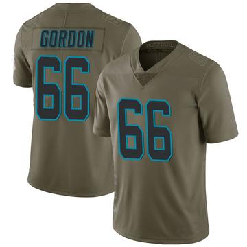 Youth Nike Carolina Panthers Dillon Gordon Green 2017 Salute to Service Jersey - Limited