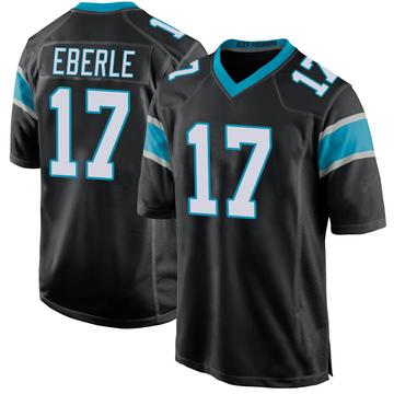 Youth Nike Carolina Panthers Dominik Eberle Black Team Color Jersey - Game