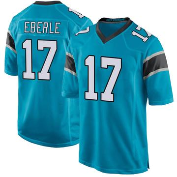 Youth Nike Carolina Panthers Dominik Eberle Blue Alternate Jersey - Game