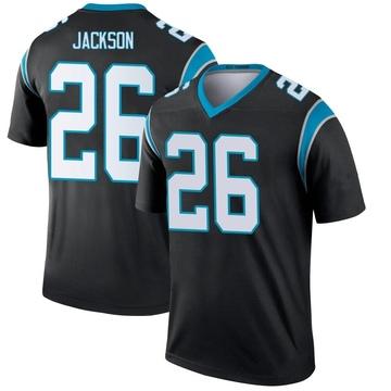 Youth Nike Carolina Panthers Donte Jackson Black Jersey - Legend