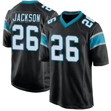 Youth Nike Carolina Panthers Donte Jackson Black Team Color Jersey - Game