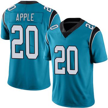 Youth Nike Carolina Panthers Eli Apple Blue Alternate Vapor Untouchable Jersey - Limited