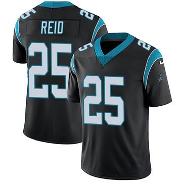 Youth Nike Carolina Panthers Eric Reid Black Team Color Vapor Untouchable Jersey - Limited