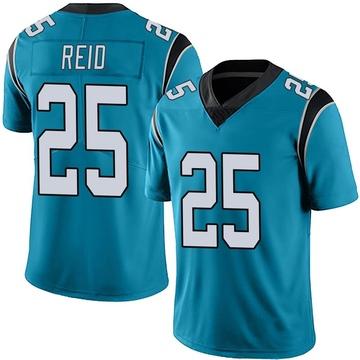 Youth Nike Carolina Panthers Eric Reid Blue Alternate Vapor Untouchable Jersey - Limited