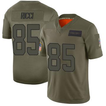 Youth Nike Carolina Panthers Giovanni Ricci Camo 2019 Salute to Service Jersey - Limited