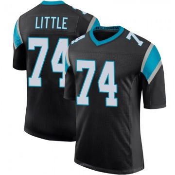 Youth Nike Carolina Panthers Greg Little Black Team Color 100th Vapor Untouchable Jersey - Limited