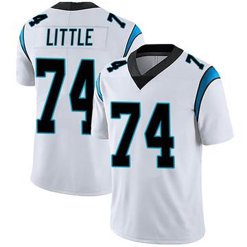 Youth Nike Carolina Panthers Greg Little White Vapor Untouchable Jersey - Limited