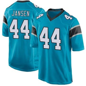 Youth Nike Carolina Panthers J.J. Jansen Blue Alternate Jersey - Game