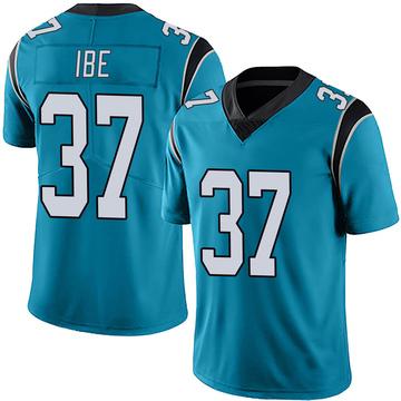 Youth Nike Carolina Panthers J.T. Ibe Blue Alternate Vapor Untouchable Jersey - Limited