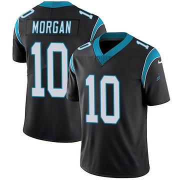 Youth Nike Carolina Panthers James Morgan Black Team Color Vapor Untouchable Jersey - Limited