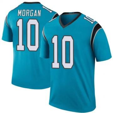 Youth Nike Carolina Panthers James Morgan Blue Color Rush Jersey - Legend