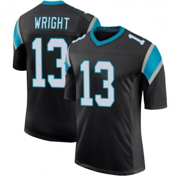 Youth Nike Carolina Panthers Jarius Wright Black Team Color 100th Vapor Untouchable Jersey - Limited