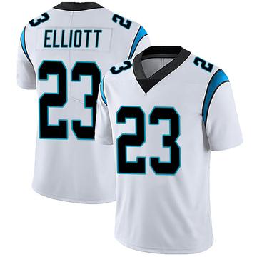Youth Nike Carolina Panthers Javien Elliott White Vapor Untouchable Jersey - Limited