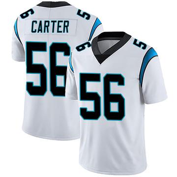Youth Nike Carolina Panthers Jermaine Carter White Vapor Untouchable Jersey - Limited