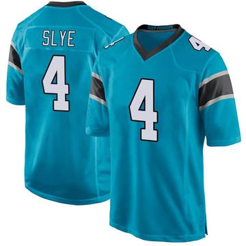 Youth Nike Carolina Panthers Joey Slye Blue Alternate Jersey - Game