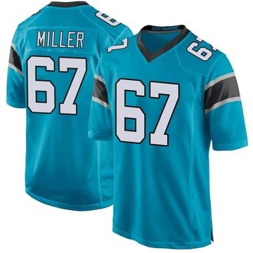 Youth Nike Carolina Panthers John Miller Blue Alternate Jersey - Game