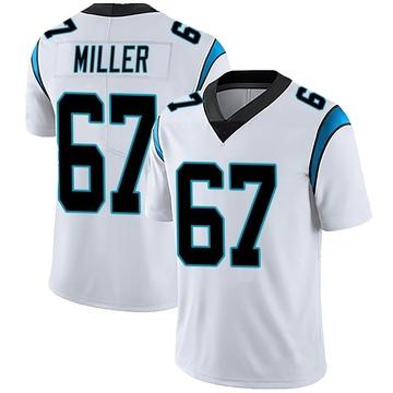 Youth Nike Carolina Panthers John Miller White Vapor Untouchable Jersey - Limited