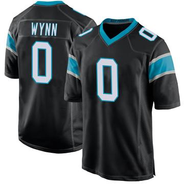 Youth Nike Carolina Panthers Jonathan Wynn Black Team Color Jersey - Game