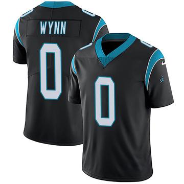 Youth Nike Carolina Panthers Jonathan Wynn Black Team Color Vapor Untouchable Jersey - Limited