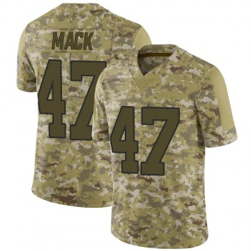 Youth Nike Carolina Panthers Jordan Mack Camo 2018 Salute to Service Jersey - Limited