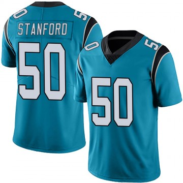 Youth Nike Carolina Panthers Julian Stanford Blue Alternate Vapor Untouchable Jersey - Limited