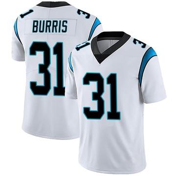Youth Nike Carolina Panthers Juston Burris White Vapor Untouchable Jersey - Limited