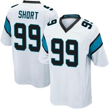 Youth Nike Carolina Panthers Kawann Short White Jersey - Game