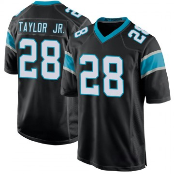 Youth Nike Carolina Panthers Keith Taylor Black Team Color Jersey - Game