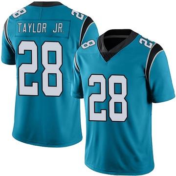 Youth Nike Carolina Panthers Keith Taylor Blue Alternate Vapor Untouchable Jersey - Limited