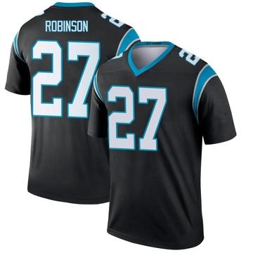 Youth Nike Carolina Panthers Kenny Robinson Black Jersey - Legend