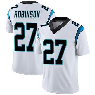 Youth Nike Carolina Panthers Kenny Robinson White Vapor Untouchable Jersey - Limited