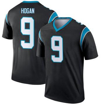 Youth Nike Carolina Panthers Krishawn Hogan Black Jersey - Legend
