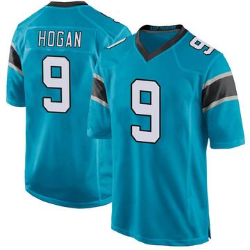 Youth Nike Carolina Panthers Krishawn Hogan Blue Alternate Jersey - Game