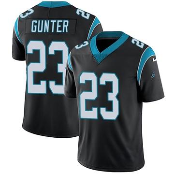 Youth Nike Carolina Panthers LaDarius Gunter Black Team Color Vapor Untouchable Jersey - Limited