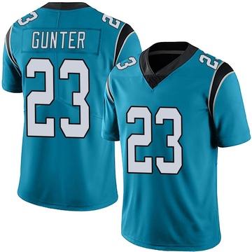 Youth Nike Carolina Panthers LaDarius Gunter Blue Alternate Vapor Untouchable Jersey - Limited