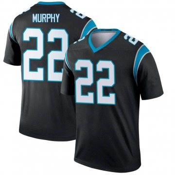 Youth Nike Carolina Panthers Marcus Murphy Black Jersey - Legend
