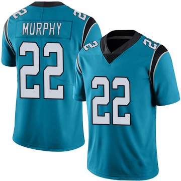 Youth Nike Carolina Panthers Marcus Murphy Blue Alternate Vapor Untouchable Jersey - Limited