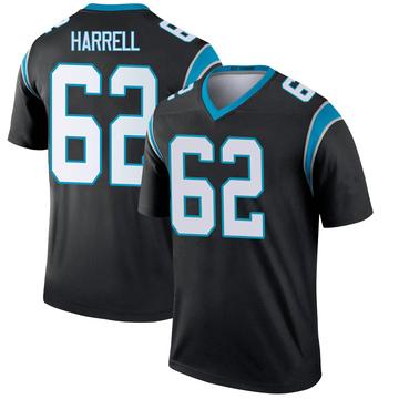 Youth Nike Carolina Panthers Marquel Harrell Black Jersey - Legend