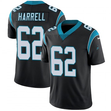 Youth Nike Carolina Panthers Marquel Harrell Black Team Color Vapor Untouchable Jersey - Limited