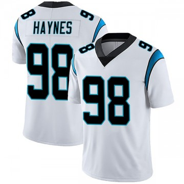 Youth Nike Carolina Panthers Marquis Haynes White Vapor Untouchable Jersey - Limited