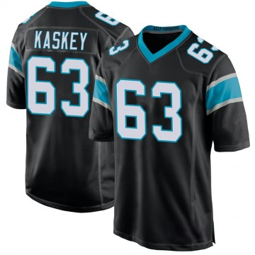 Youth Nike Carolina Panthers Matt Kaskey Black Team Color Jersey - Game