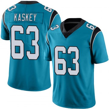 Youth Nike Carolina Panthers Matt Kaskey Blue Alternate Vapor Untouchable Jersey - Limited