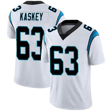 Youth Nike Carolina Panthers Matt Kaskey White Vapor Untouchable Jersey - Limited