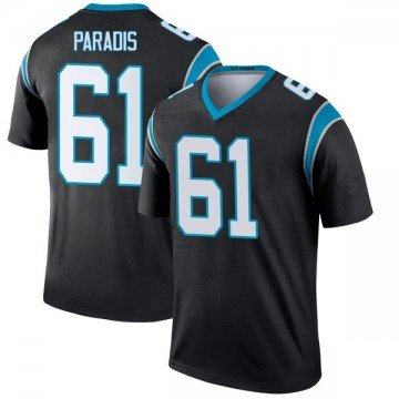 Youth Nike Carolina Panthers Matt Paradis Black Jersey - Legend