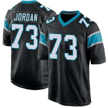 Youth Nike Carolina Panthers Michael Jordan Black Team Color Jersey - Game