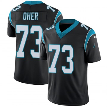 Youth Nike Carolina Panthers Michael Oher Black Team Color Vapor Untouchable Jersey - Limited