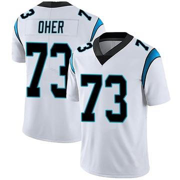 Youth Nike Carolina Panthers Michael Oher White Vapor Untouchable Jersey - Limited