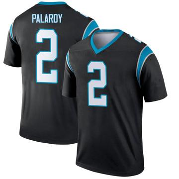 Youth Nike Carolina Panthers Michael Palardy Black Jersey - Legend