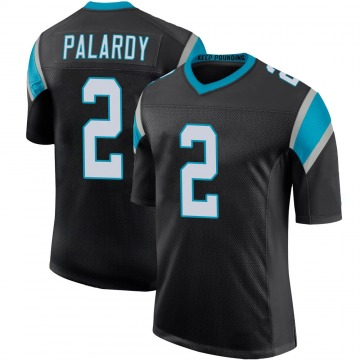 Youth Nike Carolina Panthers Michael Palardy Black Team Color 100th Vapor Untouchable Jersey - Limited