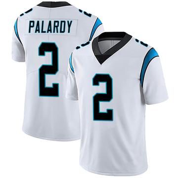 Youth Nike Carolina Panthers Michael Palardy White Vapor Untouchable Jersey - Limited